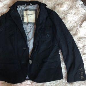 Preppy wool blazer